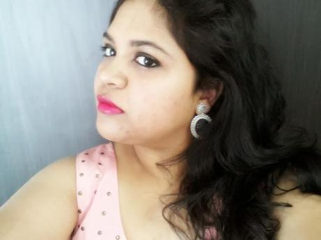 ♥ FOTD : Kohled Eyes and Two Tone Lips ♥