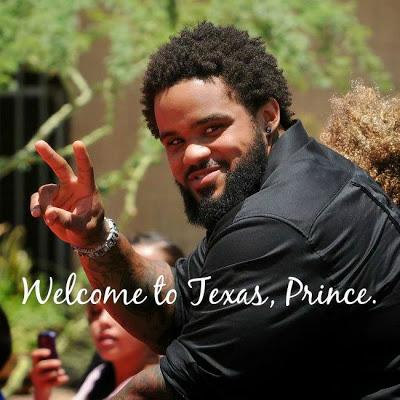 Welcome To Texas, Prince !
