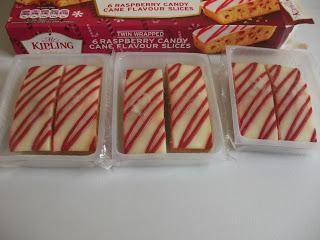 Mr Kipling Raspberry Candy Cane Slices Review