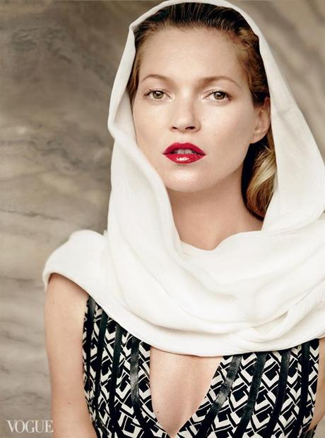 KATE MOSS in Istanbul by Mario Testino