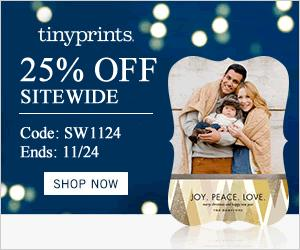 Tiny Prints Sitewide Sale: 25% Off Any Order + Free Shipping!