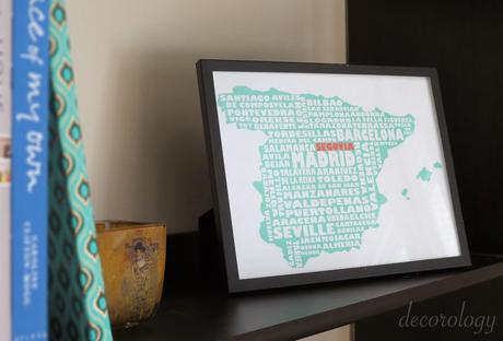 Great gift idea! Typography map art from Map My State! (And a coupon code)