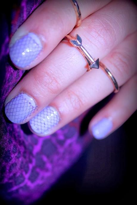 MANICURE FRIDAY- TULLE NAILS