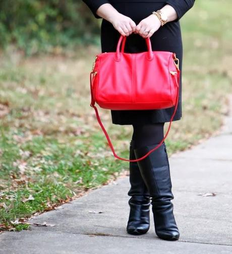 What I Wore: Real Red