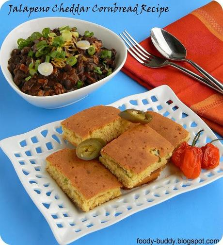Jalapeno Cheddar Cornbread Recipe Without Eggs - Paperblog