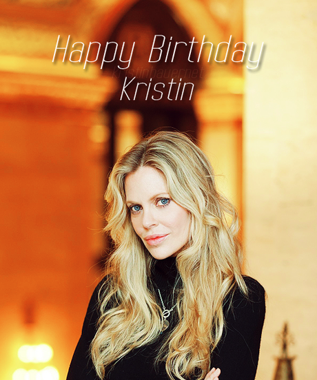Happy 40th Birthday Kristin!