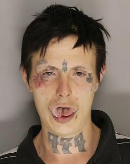 Scariest Murder Mug Shot Ever Goes Viral Look At This Freak!! (Video)