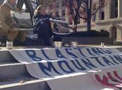 BREAKING NEWS: Climate Ground Zero Campaigner Mike Roselle Arrested Governor's Mansion