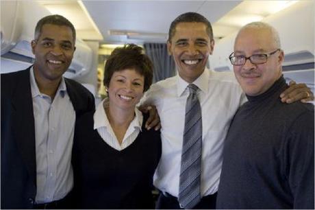 O's Chicago friends - Martin Nesbitt, Valerie Jarrett, Dr. Eric Whitaker
