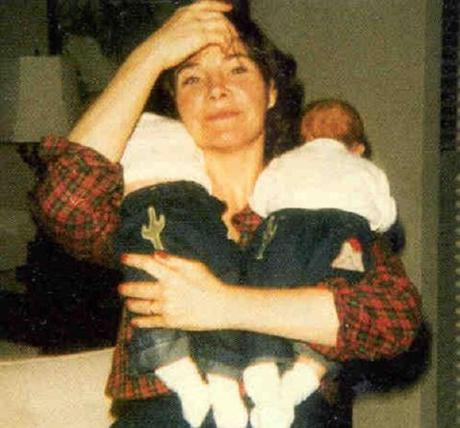 Laura Bush with babies