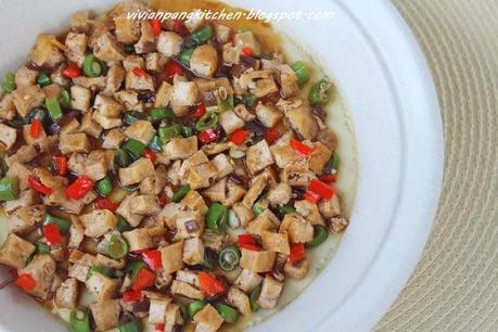 Steamed Eggs with Seasoned Tofu - Paperblog