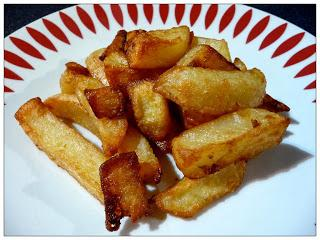Review Tesco Finest Triple Cooked Chips Paperblog