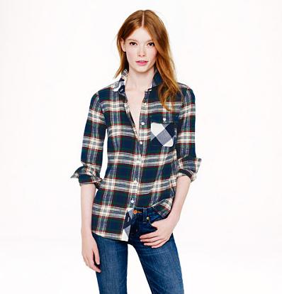 Deep Ivy Plaid Shirt