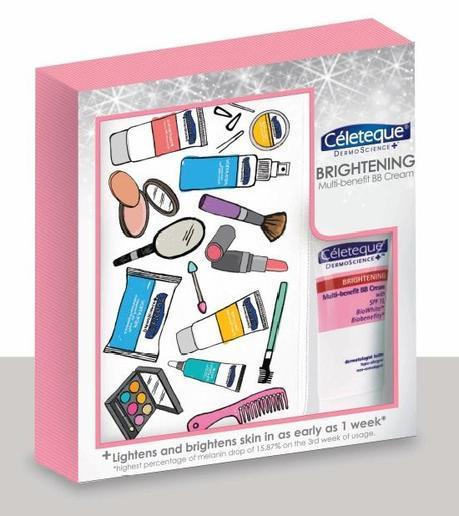 Celeteque Dermoscience BB Cream kit