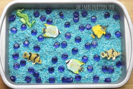 Simple Sensory Play Ideas Rice Trays Paperblog