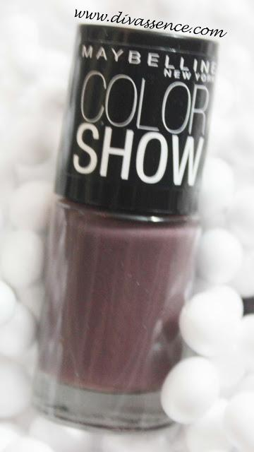 Maybelline Color Show Nail paint Nude Skin (015) Review