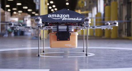 Amazon readies unmanned 'Prime Air' delivery drones