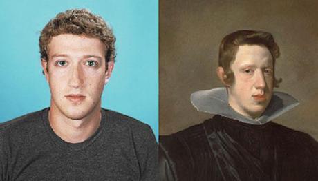 Mark Zuckerberg and King Philip IV of Spain