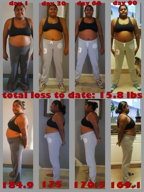 Lauren's 90-Day Challenge Results Before and After