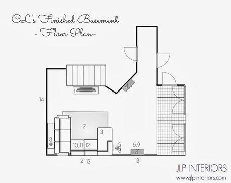 E-Design: CL's Finished Basement