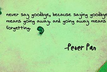 Good Friends Never Say Goodbye Paperblog