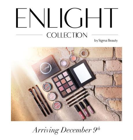 Coming Soon to Sigma Beauty: Enlight Colection! (December 9th)