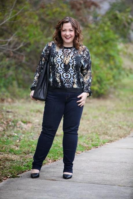 What I Wore: Slithering Snake