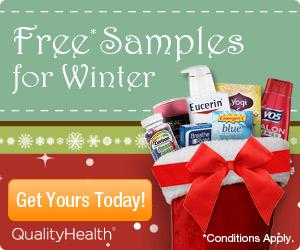 Get FREE Winter Samples by Mail