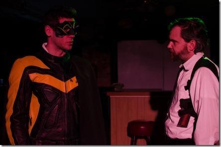 Review: Detective Partner Hero Villain (Strawdog Theatre)