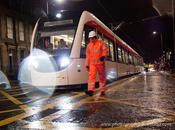 Edinburgh Trams Tested Overnight