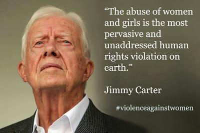 Carter Speaks Out Against Worldwide Inequality And Violence Against Women