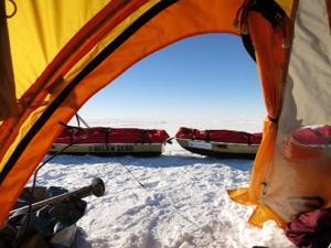 Antarctica 2013: Speed Record Restart And Emergency Evac