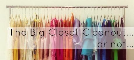 Alison and the Big Closet Cleanout