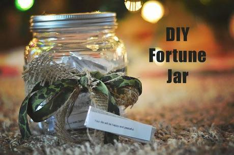 Easy and inexpensive DIY fortune jar