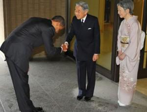 Bowing in China