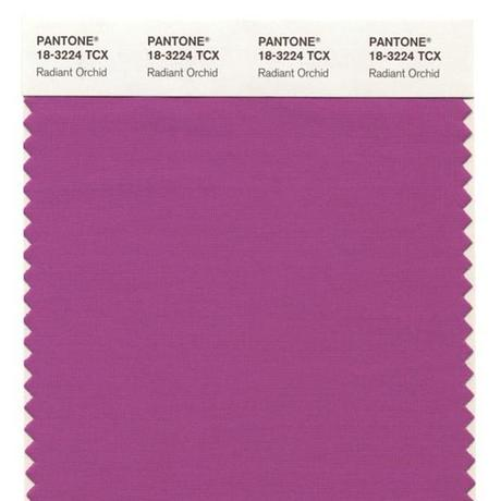 Color of the Year for 2014: PANTONE 18-3224 Radiant Orchid