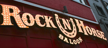 Rock N Horse Sign