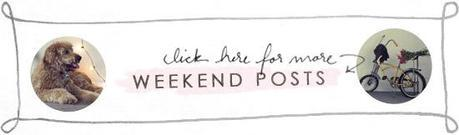 post footer weekend Weekend: Getting Back into the Swing of Things