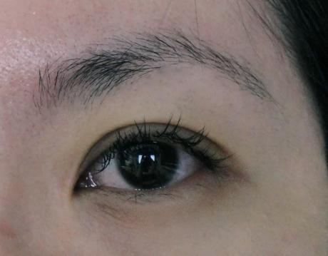 First eyelash extension: Novalash from Lolita