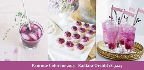Pantone Color 2014 food