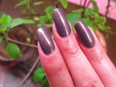 Maybelline Color Show Nail Paint: Buried Treasure: Review/NOTD