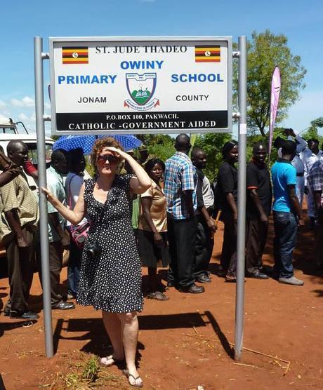 Diary of a Muzungu Pokwero sign Uganda solar eclipse