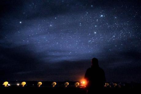 Watching the stars on my birthday.