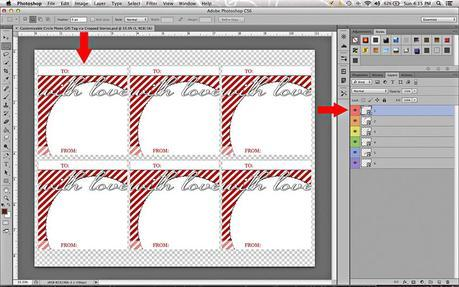 Customizable Photo Gift Tag Tutorial via Cropped Stories