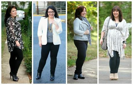 women's black khaki pants