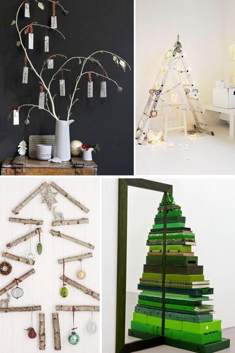 Alternative ideas for Christmas trees