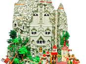 Hobbit Kingdom Erebor Recreated With 80,000 LEGO Bricks