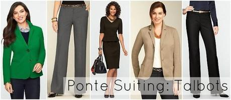 Ask Allie: Ponte Suiting