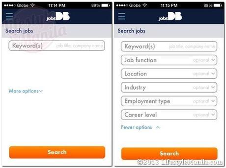 Jobsdb mobile app easy job search on ios and android paperblog jobsdb mobile jobsearch more options stopboris Choice Image