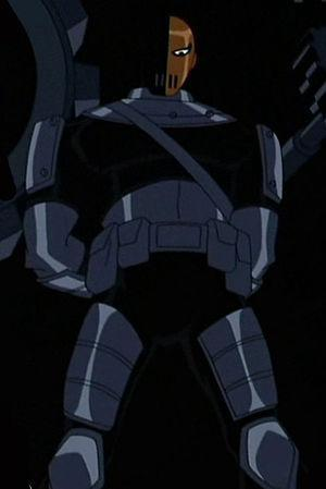 Slade as he appears in the Teen Titans animate...